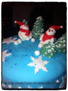 Weihnachtscake 1