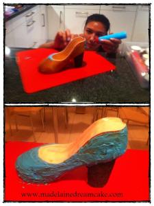 Shoes Cake 2