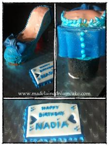 Shoes Cake 4
