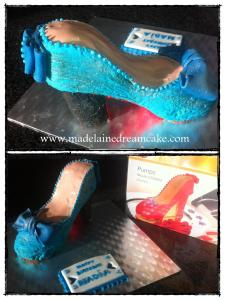 Shoes Cake 5