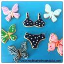Schmetterling Cookies