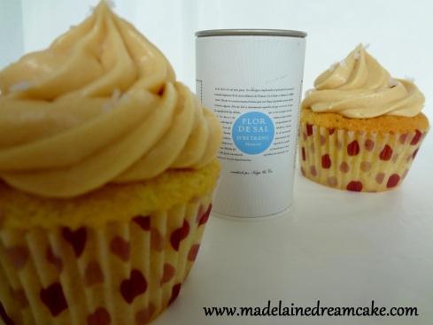 Caramel - Fleur de Sel Cupcakes