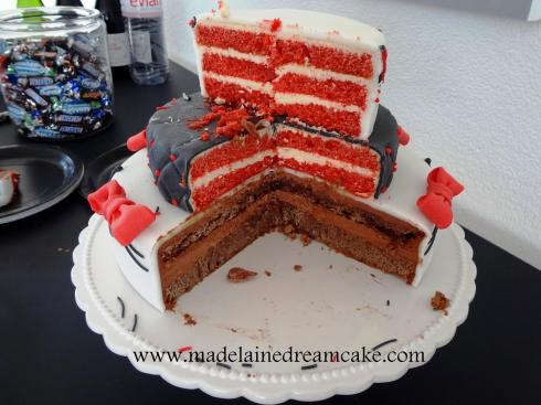 Angeschnittene Torte
