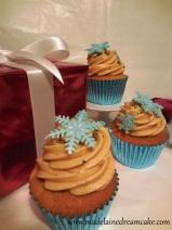 Schneeflocken Cupcakes