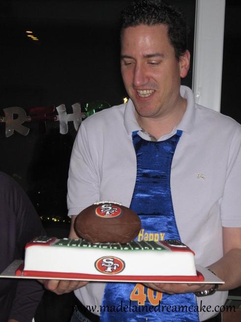 SF 49ers Cake