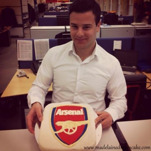 Arsenal Torte