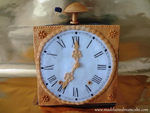 Comtoise Uhr Torte