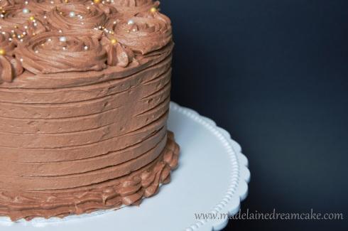Torte mit Schokoladen Buttercreme
