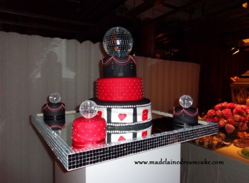 Discokugel Hochzeitstorte