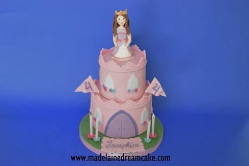 Prinzessinen Burg Torte