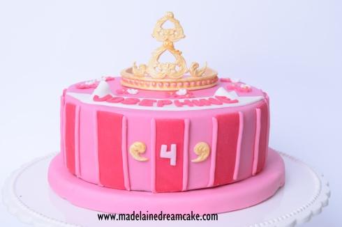 Prinzessin Diadem Geburtstags Torte