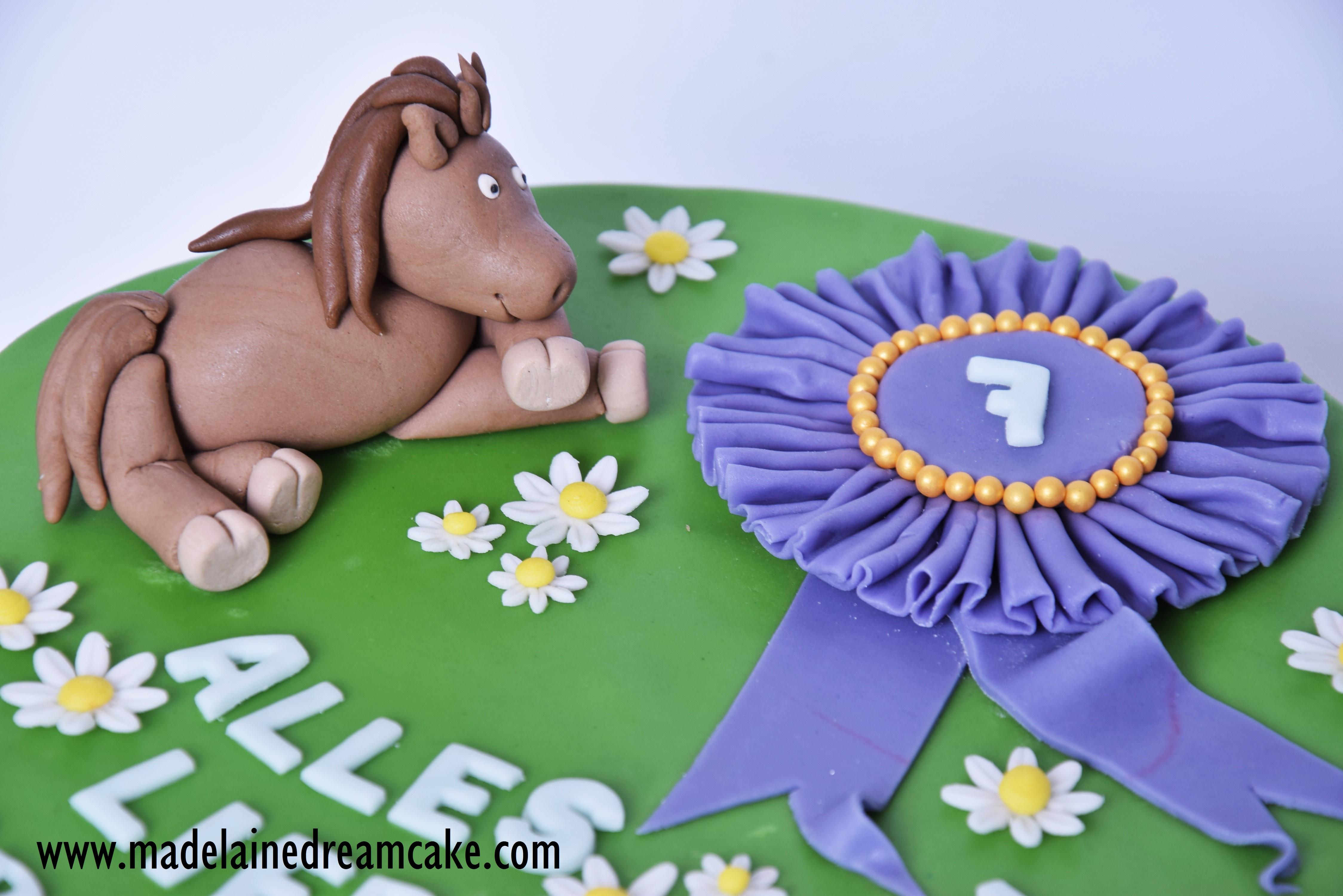 Pferde Torte Madelainedreamcake