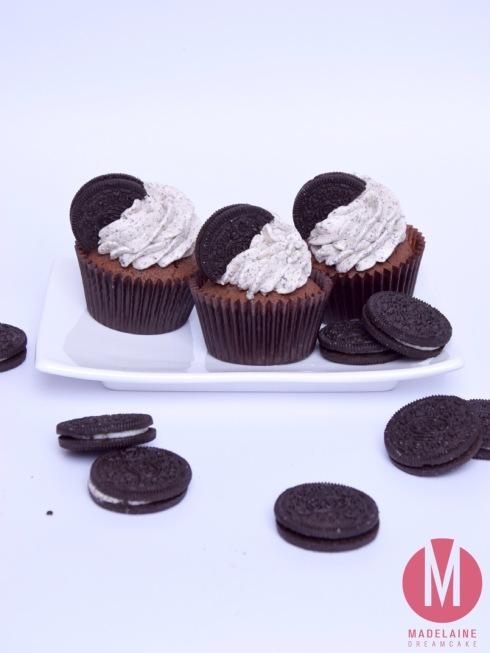 Oreo Kekse Cupcakes