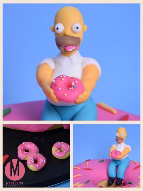 Homer Simpsons Fondant