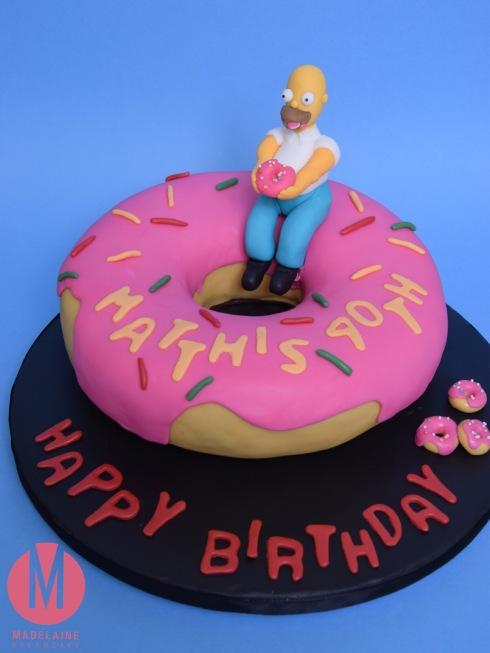 Homer Simpsons Donat Torte