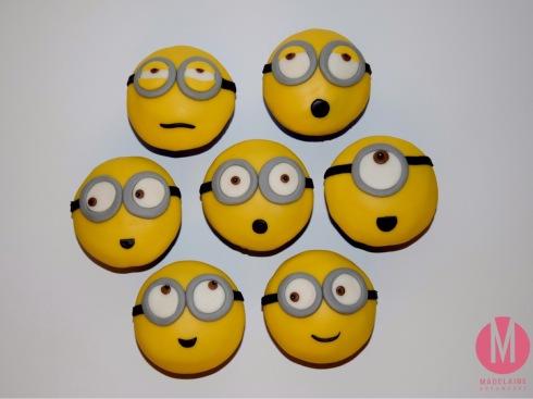 Minions Cupcakes Fondant