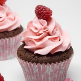 Brownie Cupcakes mit Himbeerbuttercreme 2015
