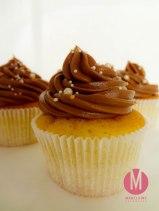 Vanille mit Schokolade Cupcakes