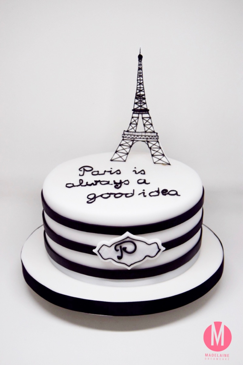 Paris Geburtstagstorte