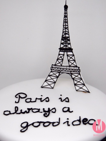 Eiffelturm Fondant