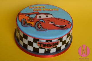 Cars Torte 2016