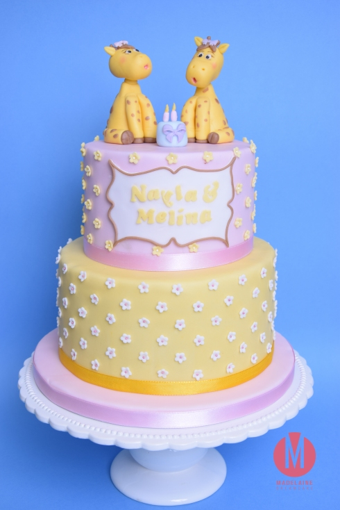 Giraffe Geburtstagstorte