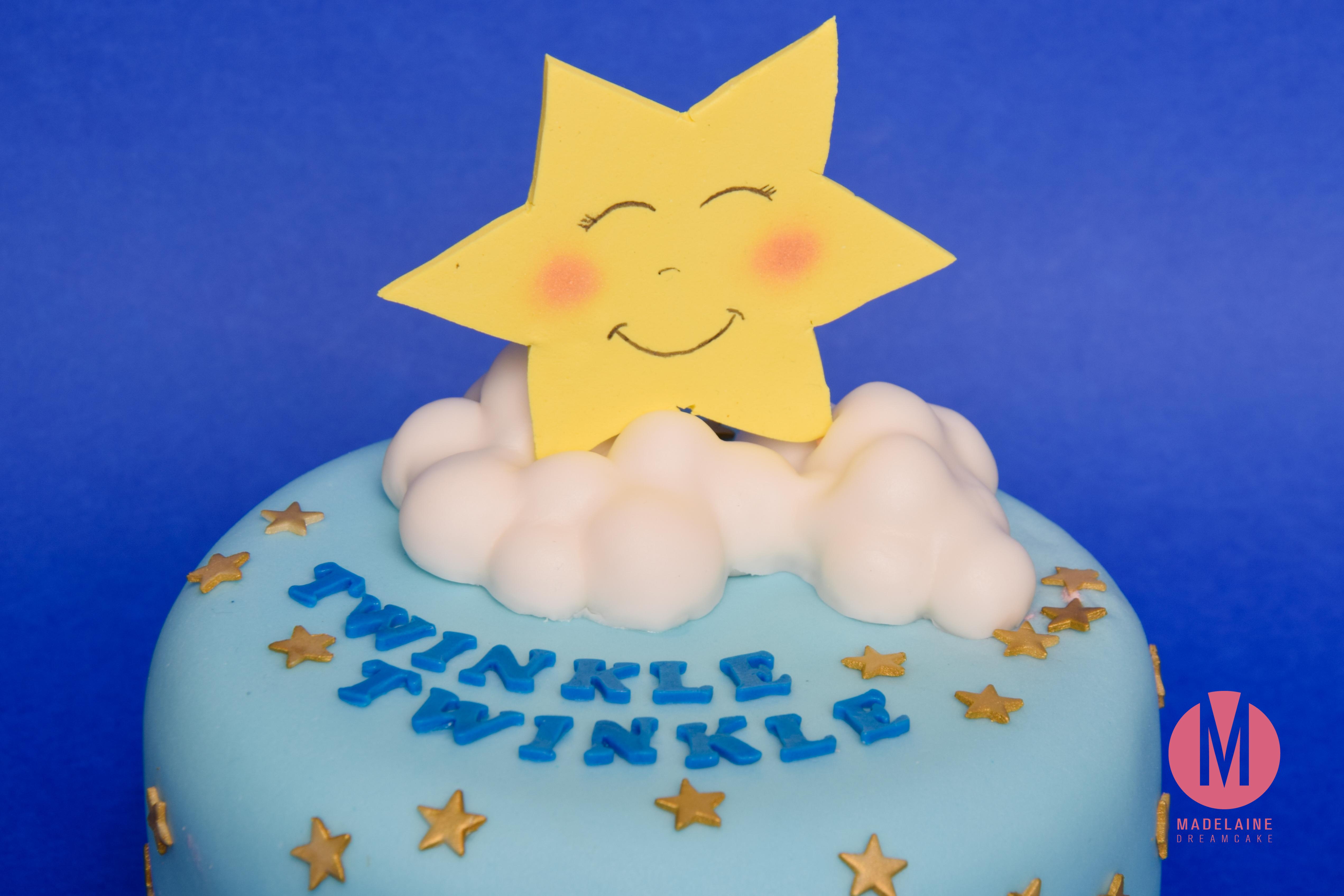 Twinkle Twinkle Little Star Baby Shower Torte Madelainedreamcake