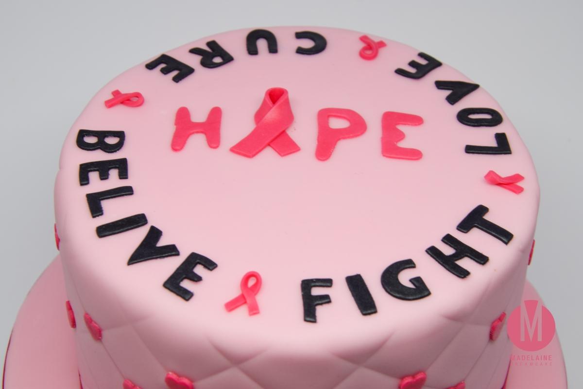Pink Ribbon Torte