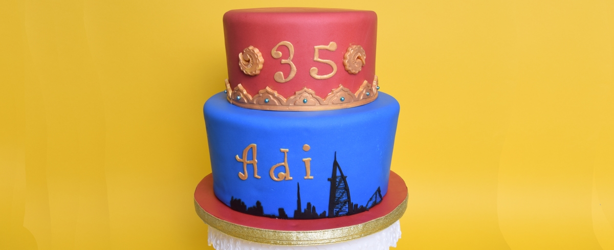 Dubai Torte